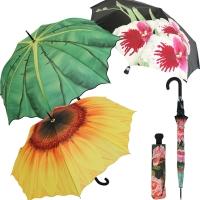 Schirme mit Pflanzen & Blüten