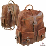 "LandLeder Rucksack ""Jerome"" RUGGED HIDE"