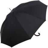 Knirps Herren Stockschirm Regenschirm Long AC black