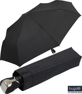 Regenschirm bugatti Gran Turismo heat stamp Auf-Zu Automatik gemustert