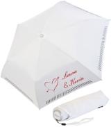 iX-brella Mini Hochzeits-Taschenschirm Amor mit...