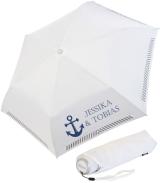 iX-brella Mini Hochzeits-Taschenschirm Anker mit...