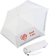 iX-brella Mini Hochzeits-Taschenschirm I love you  mit...