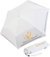 iX-brella Mini Hochzeits-Taschenschirm Ringe mit...
