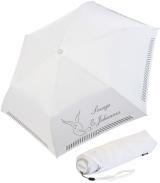 iX-brella Mini Hochzeits-Taschenschirm Tauben mit...