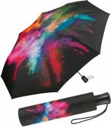 Regenschirm groß stabil mit Automatik schwarz...