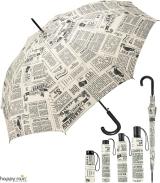 Regenschirm bedruckt - newspaper
