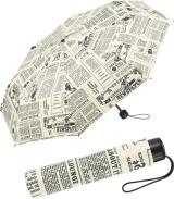 Regenschirm bedruckt - newspaper - Taschenschirm...