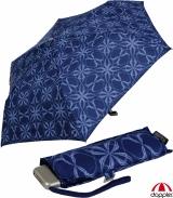 Doppler Damen Taschenschirm Mini Carbonsteel Slim Bloom -...