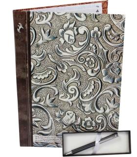 Ornamentik Briefpapier mit Kugelschreiber