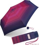 Esprit Super Mini Taschenschirm Petito Gradient Stripes -...