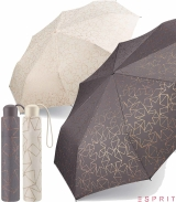 Esprit Mini Taschenschirm Handöffner Glitter Stars