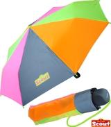Scout Kinder-Taschenschirm mit reflektierendem Element...