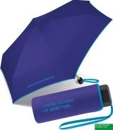 Benetton Taschenschirm Ultra Mini Flat - clematisblue
