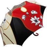 Doppler Manufaktur Damen Stockschirm VIP Elegance Grazia red