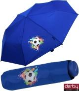 Kinderschirm Jungen Mini Taschenschirm light Kids blau -...