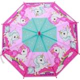 neyrat Kinder-Regenschirm Stockschirm POE Einhorn