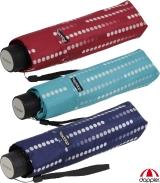 Doppler Mini Taschenschirm Havanna UV-Schutz Glamour
