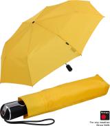 Knirps Regenschirm Taschenschirm Large Duomatic - yellow