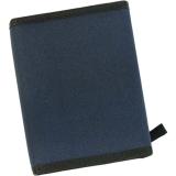 Mini -Timer Ringbuchkalender aus Kunstfaser blau mit Klettverschluß