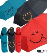 Smiley World Taschenschirm Auf-Automatik
