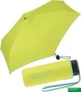 Benetton Taschenschirm Ultra Mini Flat - acid green
