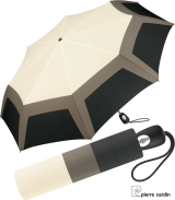 Pierre Cardin Regenschirm Geometrique white -...