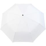iX-brella Mini Ultra Light - Damen Taschenschirm mit großem Dach - extra leicht - weiß