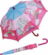 Kinder-Regenschirm Stockschirm Einhorn