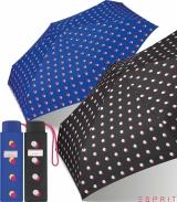 Esprit Super Mini Taschenschirm Petito Double Dot
