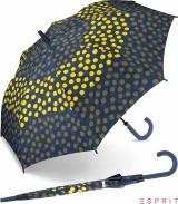Esprit Regenschirm Lemon Dot - Stockschirm mit Automatik
