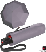Knirps Taschenschirm T.100 Duomatic Auf-Zu-Automatik - grey