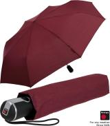 Knirps Regenschirm Taschenschirm Large Duomatic - bordeaux