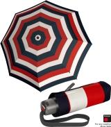 Knirps Super-Mini-Taschenschirm T.010 Stripe red
