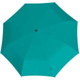Knirps X1 Super Mini Taschenschirm im Etui UV-Schutz aqua