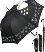 neyrat Regenschirm Farbwechsel Butterfly