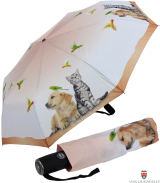 Taschenschirm Auf-Zu-Automatik UV-Protection Tierleben