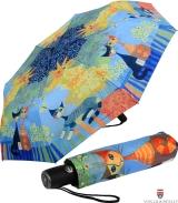 Taschenschirm Auf-Automatik UV-Protection Rosina...