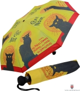 Taschenschirm Auf-Automatik UV-Protection Chat Noir