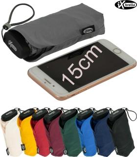 iX-brella Ultra Small 15cm kleiner Taschenschirm im Handy Format