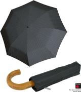 Knirps Taschenschirm Minimatic SL mit Holz-Rundhakengriff...