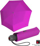 Knirps Mini Taschenschirm E.100 Auf-Zu-Automatik - pink