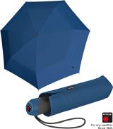 Knirps Mini Taschenschirm E.100 Auf-Zu-Automatik - ocean