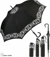 Pierre Cardin Regenschirm schwarz-weiß