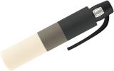 Pierre Cardin Damen Taschenschirm mit Auf-Zu-Automatik Slimline Geometrique White