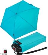 Knirps mini Taschenschirm Travel mit UV-Schutz aqua