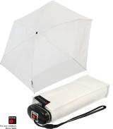 Knirps mini Taschenschirm Travel mit UV-Schutz white