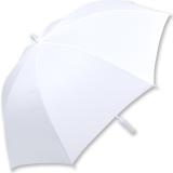 iX-brella XXL Mr.&Mrs. Hochzeitsschirm Automatik personalisiert mit Name - Brautschirm All In White - verschnörkelte Herzen