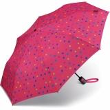 Benetton Taschenschirm Mini AC - Multidots Pink