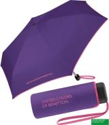 Benetton Taschenschirm Ultra Mini Flat - ultra violet